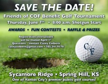 7th Annual COF Friends of COF Benefit Golf Tournament